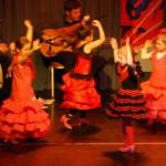 Flamenco Tanz Kinder
