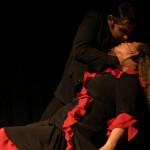 Flamenco leidenschaftlicher Kuß