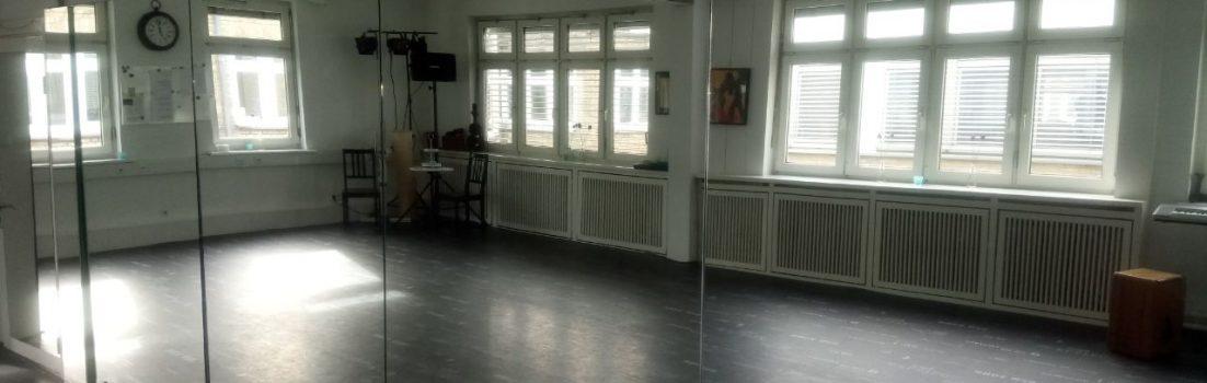 Tanzraum-Vermietung